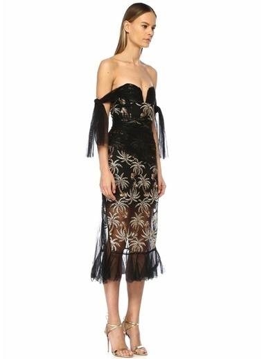 Alice Mccall Elbise Siyah